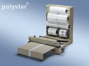 Polystar® 243 M munkaasztallal és fóliatekercstartókkal