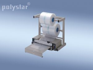 Polystar® 401 M munkaasztallal és tekercstartó állvánnyal
