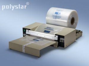 Polystar® 401 M munkaasztallal és tekercstartó görgőkkel