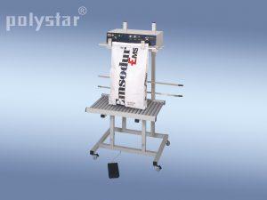 Polystar® 601 HM görgős kocsival, magasságában állítható állvánnyal
